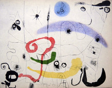 Joan MIRO (1893-1983) - JOAN MIRO, Hand signed Lithograph,