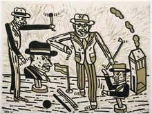 Antonio SEGUI (1934) - Jeux de Plage