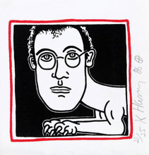 Keith HARING (1958-1990) - Self-Portrait