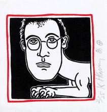Keith HARING (1958-1990) - Self-Portrait