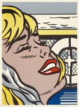 Roy LICHTENSTEIN (1923-1997) - Shipboard Girl (Corlett II. 6)