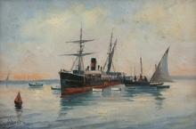 Salvador ABRIL Y BLASCO (1862-1924) - MARINA