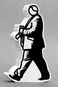 Julian OPIE (1958) - Walking in the city