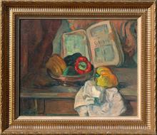Marcel ARNAUD (1877-1956) - Nature morte aux poivrons