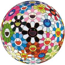 Takashi MURAKAMI (1962) - Flower Ball(3-D)BLOOD