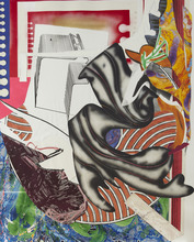 Frank STELLA (1936) - Moby Dick (from the Wave Series)