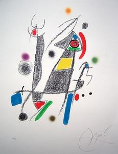 Joan MIRO (1893-1983) - Maravillas con variaciones acrosticas en el Jardin de Miro
