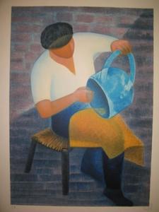 Louis TOFFOLI (1907-1999) - L'artisan.1989.