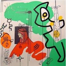 Keith HARING (1958-1990) - Apocalypse 9