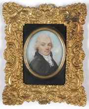 "John Thomas Barber BEAUMONT (1774-1841) - John Thomas Barber-Beaumont (1774-1841) ""Portrait of a gent"""