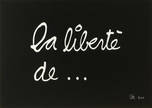 BEN (1935) - La liberté de...
