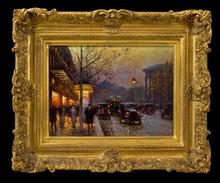 Édouard CORTES (1882-1969) - Aux Trois Quartiers, Paris