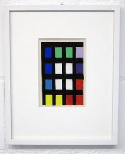 """Aurélie NEMOURS (1910-2005) - Grille Nombre """"Re Rom 47-C"""""""