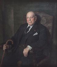Julio Moisés FERNANDEZ DE VILLASANTE (1888-1968) - Retrato de Caballero