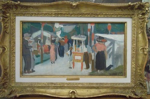 François DESNOYER (1894-1972) - Une fête