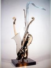 Fernandez ARMAN (1928-2005) - violon avec sax