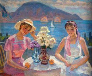 Nina SERGUEIEVA (1921-1994) - Summer in Tavrida