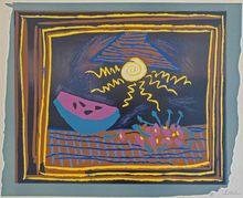 Pablo PICASSO (1881-1973) -  Still life with Watermelon