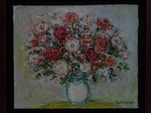 André COTTAVOZ (1922-2012) - Les roses