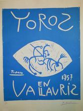 Pablo PICASSO (1881-1973) - Toros en Vallauris
