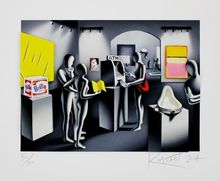 Mark KOSTABI (1960) - Dream with drawal. 3D CONSTRUCTION