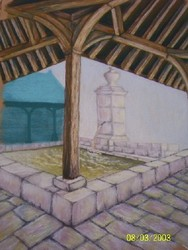 La fontaine Saint Léger