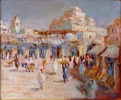 La place Bab Souika