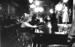 Woman at the Bar, Bourbon St. New Orleans