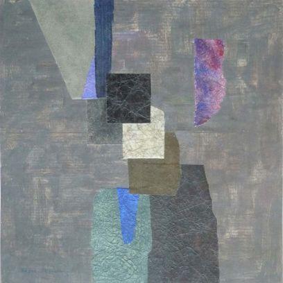 Collage au carré noir