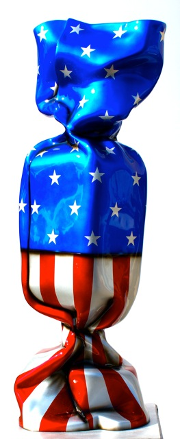 Bonbon drapeau USA