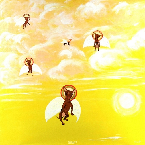 Chihuahuas anges-gardiens