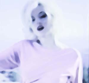 Marilyn Monroe - Imagine through desire (white)