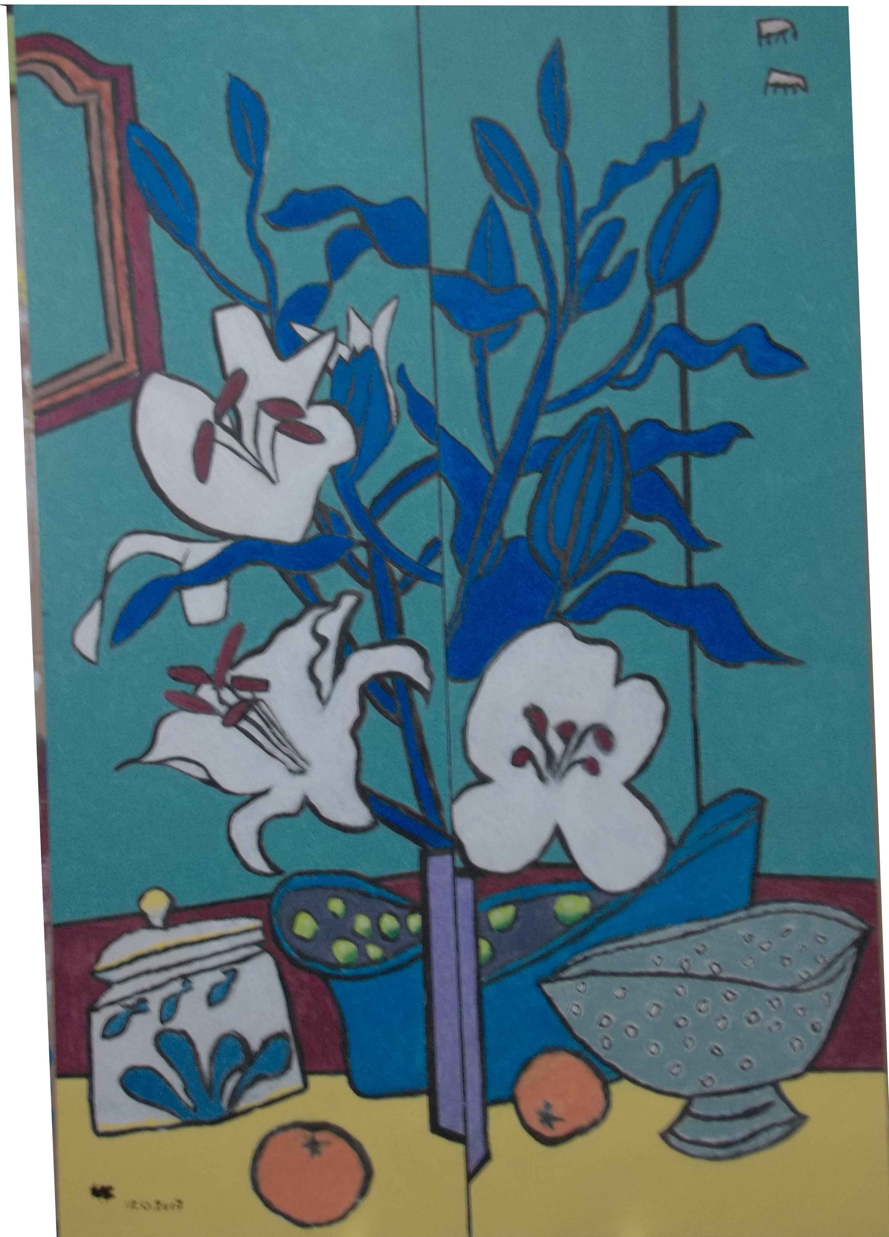 Still life with Lillies