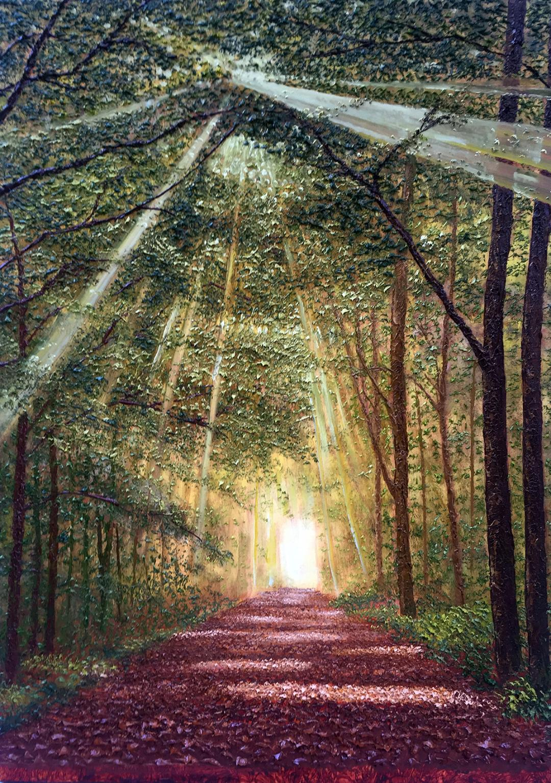 Komorebi, la luce che attraversa le foglie degli alberi