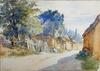René Louis CHRÉTIEN - Drawing-Watercolor