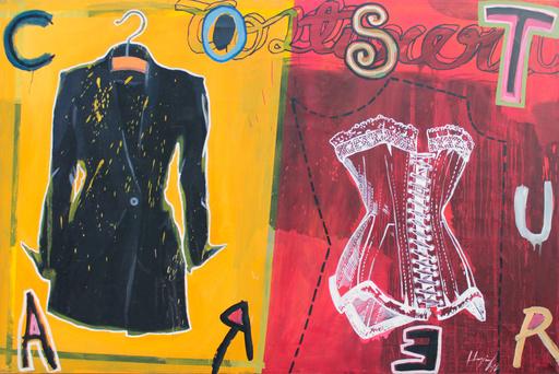 Rodolfo LLOPIZ - Painting - Costumera