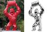 理查德•欧林斯基 - 雕塑 - Wild Kong Baril