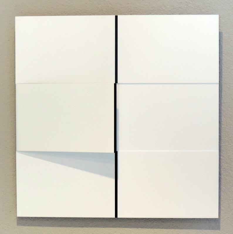 Gerhard FRÖMEL - Sculpture-Volume - Multiple durchgehende Linie vertikal