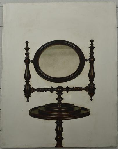 Michelangelo PISTOLETTO - Estampe-Multiple - Vanity Mirror   Specchio da toilette