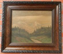 Jenö KUSZKA - Painting - High Tatras(Vysoké Tatry)