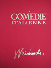 Claude WEISBUCH - Print-Multiple - La Commedia Dell'Arte