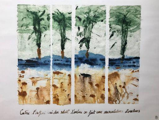 Aurélie LAFOURCADE - Peinture - L'Infini Cri du Soleil