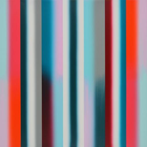 Vera LEUTLOFF - Peinture - Moment: Verlauf: Tau