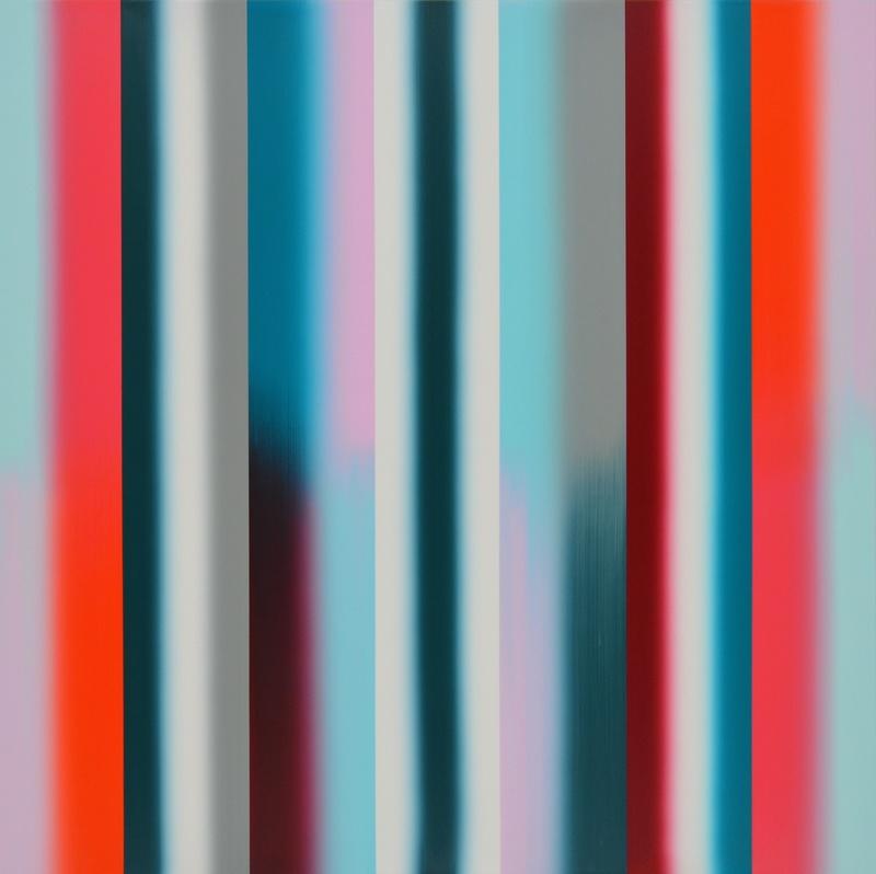 Vera LEUTLOFF - Painting - Moment: Verlauf: Tau