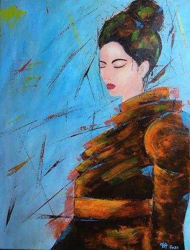 Françoise AUGUSTINE - Peinture - Inari