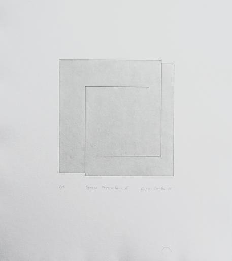 John CARTER - Print-Multiple - Square Formation II