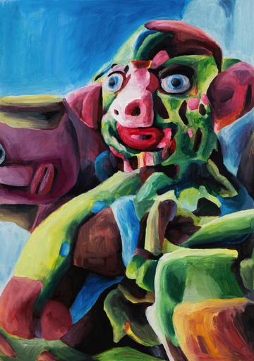 Marta SESANA - Painting - Golem