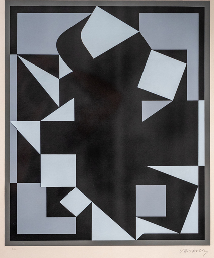 Victor VASARELY - Estampe-Multiple - Orgovan