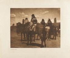 Edward S. CURTIS - Photo - Jicarila Women