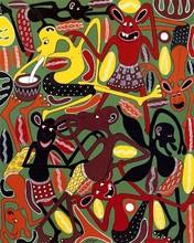 George LILANGA - Peinture - Mambo ya vijana